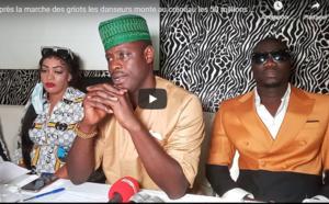Vidéo - Les danseurs demandent une audience avec Macky Sall et réclament 1 milliard FCfa