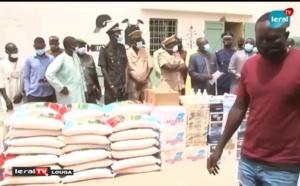 LOUGA - Le président du Conseil Départemental de Louga fait un important don de matériels à la Maison d'Arrêt et de Correction de Louga (Vidéo)