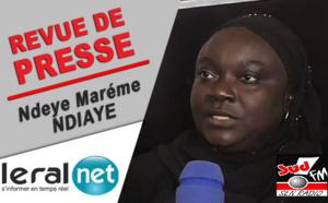 Revue de presse de Sud fm du Lundi 13 Juillet 2020 avec Ndèye Marième Ndiaye