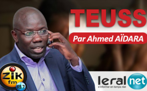 Teuss Zik fm du Lundi 13 Juillet 2020 avec Ahmed Aïdara, Mansour, Mantoulaye et Mamy Samb