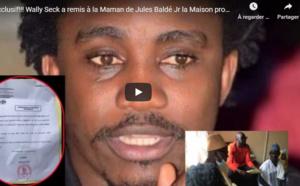 Vidéo - Comme promis, Waly Seck offre une maison à la mère de Jules Baldé Junior