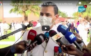 VIDEO - Célébration de la fête nationale française: Le Général Bruno Baratz et l'ensemble des participants rendent hommage aux personnels soignants du Sénégal