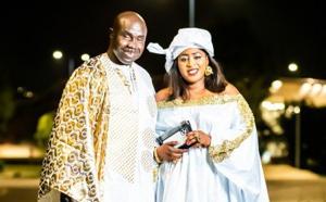 Sadio Ndiaye et son épouse brillant de mille feux :  le roi du Simb en mode Tabaski marque son territoire