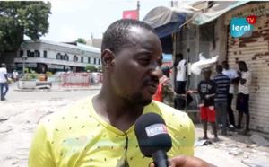 Marché Sandaga démoli: Commerçants et riverains apprécient diversement