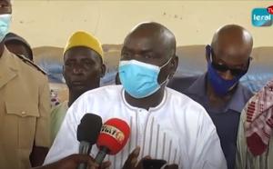 VIDEO - Distribution de vivres: Le Maire de la Commune de Nguer Malal offre 50 tonnes de riz à ses administrés