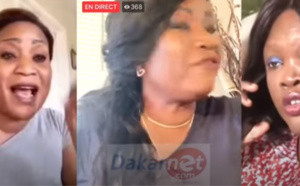 Vidéo - Francoise Hélène Gaye attaque sévèrement Ndella Madior Diouf !