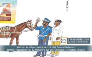 Atelier de vulgarisation de l'arrêté interministériel portant réglementation du transport par des véhicules à traction animale