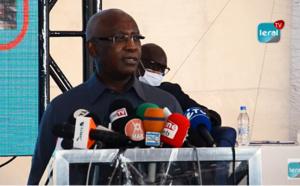 Lancement des travaux d'assainissement du Projet de Dépollution de la Baie de Hann sous la Présence du  Ministre  Serigne Mbaye THIAM