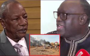"""VIDEO - Conférence de Presse sur la Situation Guinéenne: Me El Hadj Diouf fait d'hallucinantes révélations: """"Condé est un tueur..."""""""