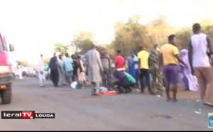 Urgent: Un accident grave s'est produit sur l'entrée de Louga