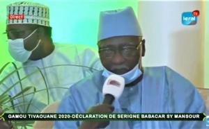 🔴En Direct de Tivaouane: Déclaration du Khalife général des Tidianes, Serigne Mbaye Sy Mansour