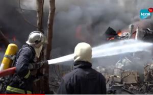 Des milliards perdus dans l'incendie du Port de Dakar, 25 engins, 112 agents dont 16 officiers mobilisés pour éteindre les flammes...