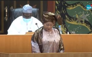 Assemblée nationale: Mame Diarra Fam plaide pour le paiement des indemnités des ex-travailleurs d'Air Afrique