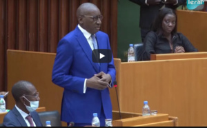 Assemblée nationale / Gestion de la pandémie: L'hommage de Me Sidiki Kaba aux forces de dépense et de sécurité