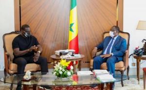 Une célébrité au Palais : l'acteur-humoriste Omar Sy reçu par le président Macky Sall