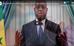 Recrutement de 2500 enseignants; Vaccin: la présidente des médecins urgentistes du Sénégal ne comprend pas la méfiance des populations; Covid-19: les chiffres toujours en hausse...