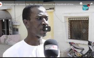 Prolongation du couvre feu: Des Sénégalais expriment leur inquiétude et trouvent inefficace la mesure