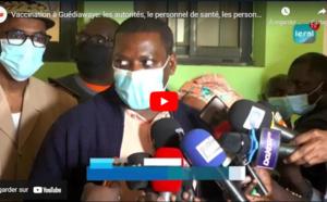 Vaccination à Guédiawaye: Les autorités, le personnel de santé, les personnes du 3e âge en tête...