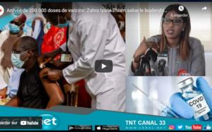 Arrivée de 200 000 doses de vaccins: Zahra Iyane Thiam salue le leadership du Président  Sall