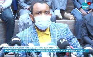 """Moussa Sow, Cojer: """"Désormais, c'est œil pour œil, dent pour dent. Macky Sall n'est ni de près, ni de loin mêlé à cette affaire de viol"""""""