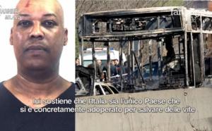 Italie - Peine réduite pour le pyromane sénégalais Ousseynou Sy, de 24 à 19 ans, après l'incendie d'un...