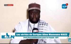 """Serigne Aliou Mamoune Niasse: """"J'ai pris l'engagement de diriger le RP...j'ai reçu des menaces """""""