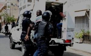Vol avec violence: Après une chasse à l'homme, la police intercepte Assane Sidibe et Émile Mendy à Fass