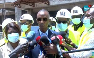 Visite d'inspection de chantier du Ministre de l'Urbanisme Abdoulaye Seydou Sow