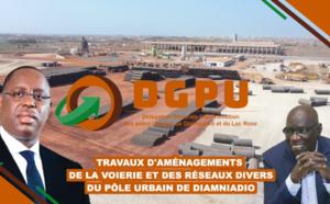 Programme d'aménagement intégré de la voirie et des réseaux divers du Pôle urbain de Diamniadio : plus de 700 emplois directs et indirects crées
