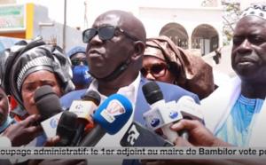Landingue Mbengue, 1er adjoint au maire de Bambilor est en phase avec le Président Macky Sall sur la correction des incohérences territoriales.