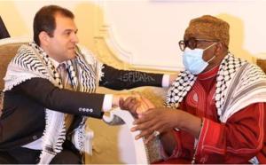 Violences à Jérusalem: une délégation du khalife général des Tidianes reçue par l'ambassadeur de la Palestine