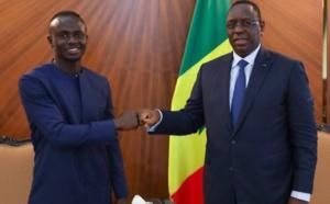 Photos: Audience avec le Président Macky Sall, Sadio Mané très honoré