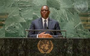 Macky Sall à la 76e session de l'Assemblée générale des Nations-unies: «Le chacun pour soi ne nous sortira pas de la pandémie...»