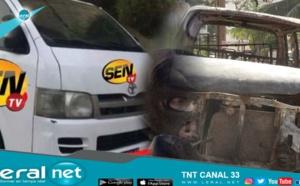 Véhicule de la Sen Tv volé: Le voleur et le receleur arrêtés, simulation d'un véhicule calciné (Vidéo)