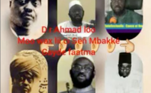 Qui est Cheikh Ahmad Lô ( Audio )