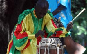 Poème dédié à Doudou Ndiaye Rose et à Vieux Sing Faye: Tam Tam Transpercé !
