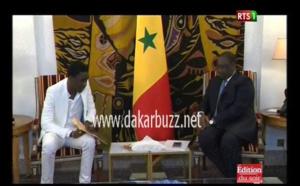 Vidéo : Le Président Macky Sall reçoit Waly Ballago Seck au Palais