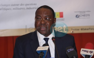 """Mankeur Ndiaye : """"Lutter contre le terrorisme n'est pas facile"""""""
