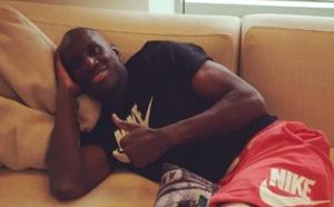 Opéré vendredi dernier, Demba Bâ est de retour chez lui