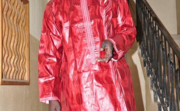 Cheikh Ndiaye, dit Jojo, très glamour