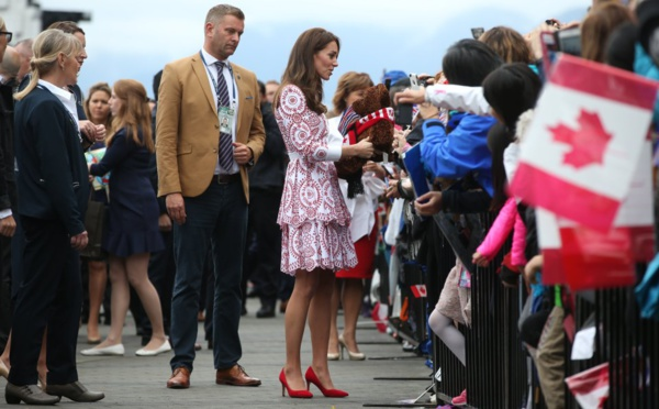 Photos : Le prince William et Kate Middleton et leurs enfants George et Charlotte au Canada