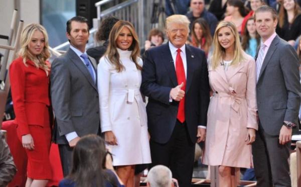 Photo : Donald Trump et sa famille