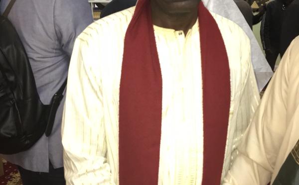Djiby Diop, le vice président du Dahira Mame El Hadji Malick de New York