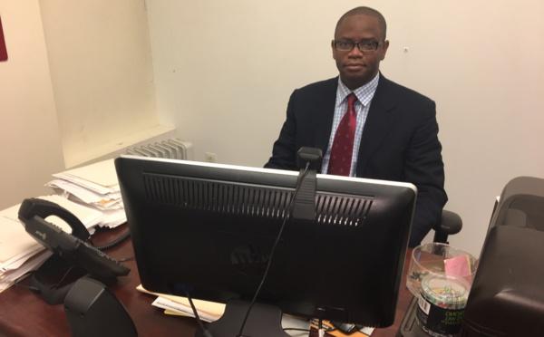 Abdoulaye Diallo, le 2ème Conseiller, chargé de la Protection Consulaire à New York