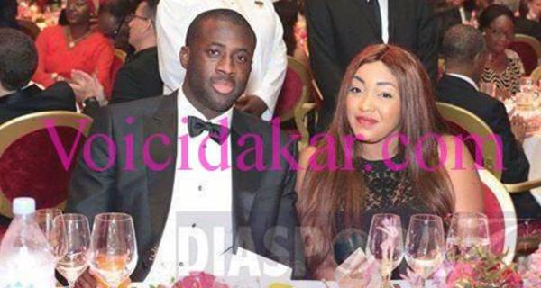 Yaya Touré avec sa dulcinée, regardez !