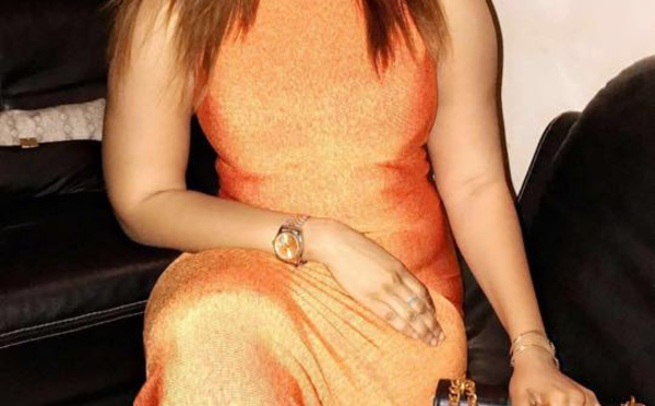 Aïda Samb brille dans une robe somptueuse