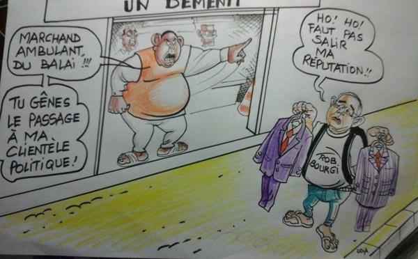 Macky, Bourgi et les costumes de Fillon........par Odia (La Tribune)