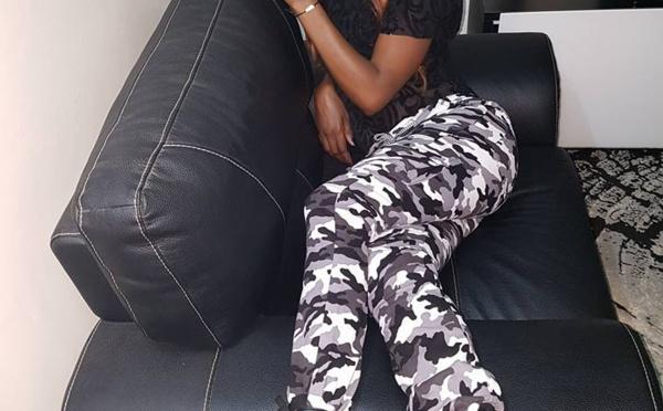 Queen Biz en tenue camouflée : lou bandit di nirol