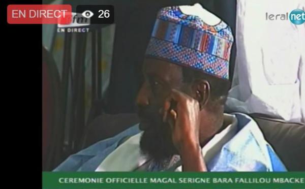 Suivez la cérémonie officielle du Magal de Serigne Mouhamadou Bara Falilou Mbacké en direct sur leral.net