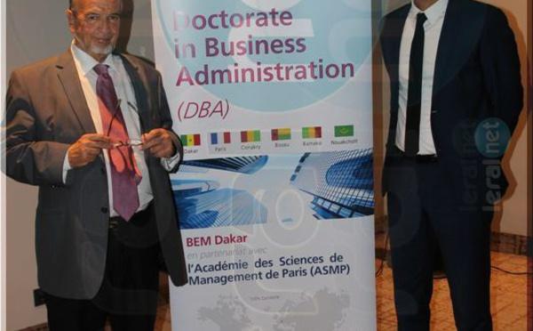 Cérémonie de lancement du Doctorate in business administration (DBA) de BEM Dakar